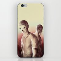 zombies iPhone & iPod Skins featuring Zombies by Jacques Marcotte