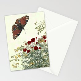 Shaking the wainscot where the field mouse trots Stationery Cards