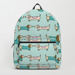 Cute dachshunds pattern Backpack
