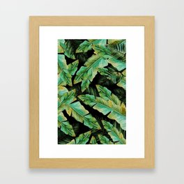 Lost In The Palms Framed Art Print