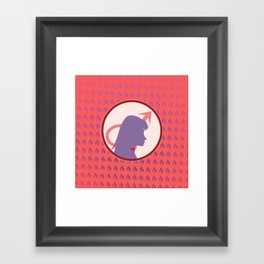 Sailor Mars Framed Art Print
