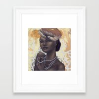 cancer Framed Art Prints featuring Cancer by Artist Andrea
