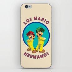 Los Mario Hermanos iPhone & iPod Skin