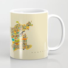 Seattle map Mug