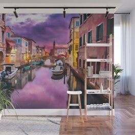 Canals of Venice Wall Mural