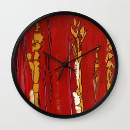 Playful Lines Wall Clock