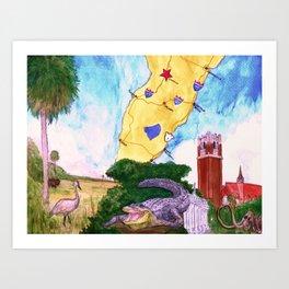 """Gainesville, FL"" by Cap Blackard Art Print"