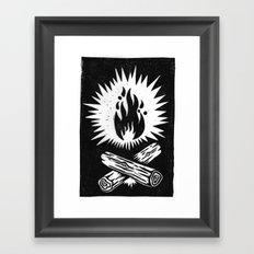 overnight Framed Art Print