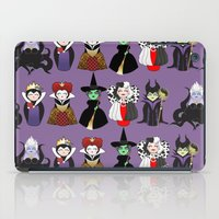 evil iPad Cases featuring Evil kokeshis by Pendientera