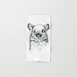 Chinchilla my love Hand & Bath Towel
