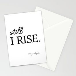 I'll rise #minimalism 3 Stationery Cards