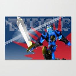 Theiser poster 2 Canvas Print
