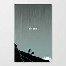 The End : LOST Canvas Print