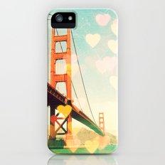 Golden Gate Bokeh iPhone (5, 5s) Slim Case
