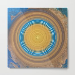 Abstract Mandala 281 Metal Print