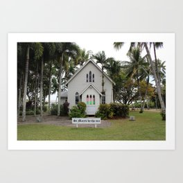 St Mary's by the Sea Art Print
