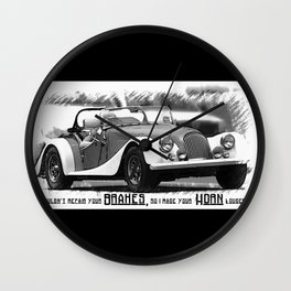 MG Automobile Wall Clock