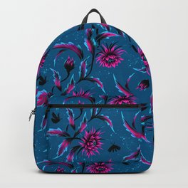 Queen of the Night - Teal / Purple Backpack