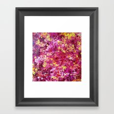 Red Point Framed Art Print