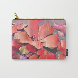 Glitch Petals Carry-All Pouch