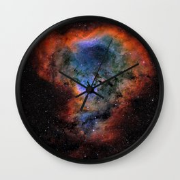 Expansion Space Wall Clock
