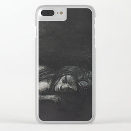Starving Clear iPhone Case