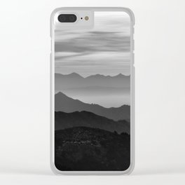 Mountains mist. BN Clear iPhone Case