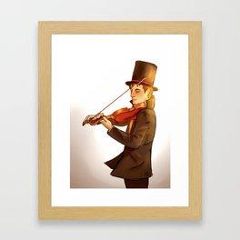 *pleased violin noises* Framed Art Print