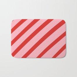 Reddy Stripes Bath Mat