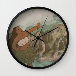 Kauai and Coffee Wall Clock