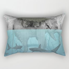 Elephant Island Rectangular Pillow