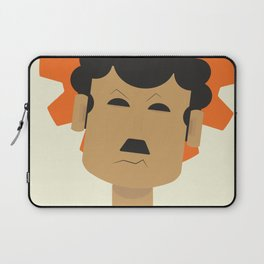 Charlie Chaplin, Modern Times, minimal movie poster, classic film, Charlot, Hollywood Laptop Sleeve
