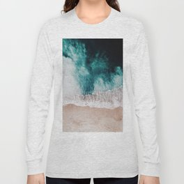 Ocean (Drone Photography) Long Sleeve T-shirt