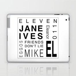 StrangerThings:Eleven Laptop & iPad Skin