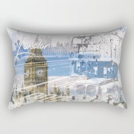 City Art WESTMINSTER Collage Rectangular Pillow