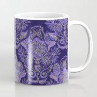 royal Mugs featuring Royal by Sand Salt Moon
