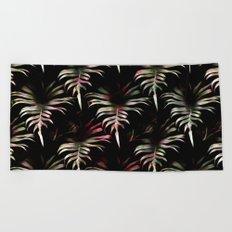 Tropicalia - Leaves Pattern Beach Towel