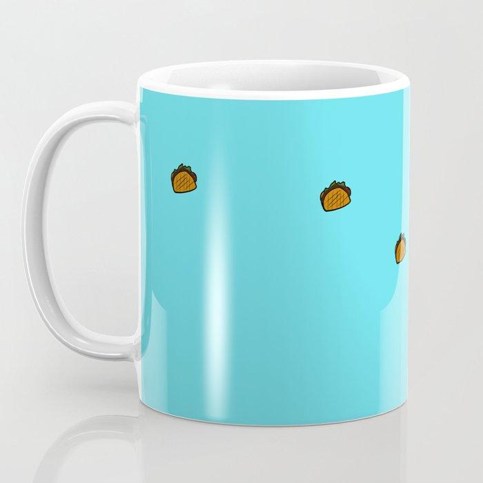 Baby Elephant Chase Your Taco Dreams! Coffee Mug