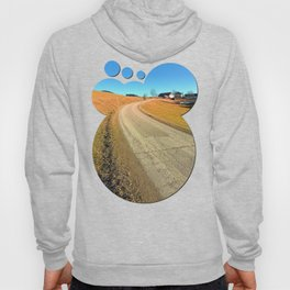 Springtime, road and countryside | landscape photography Hoody