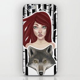Inner Wolf iPhone Skin