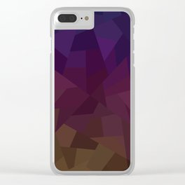 Patchwork Clear iPhone Case