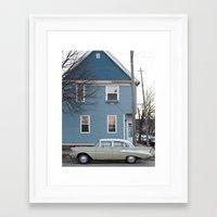 milwaukee Framed Art Prints featuring Classic Milwaukee by Dawn Silva