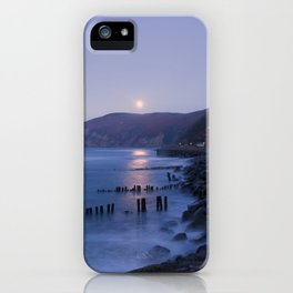 Lynmouth Moonrise iPhone Case