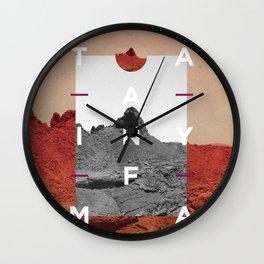 Timanfaya1 Wall Clock