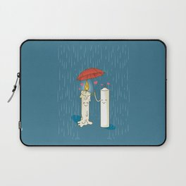 LOVE CANDLES Laptop Sleeve