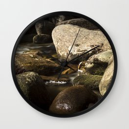 Morning Along Bear River Wall Clock