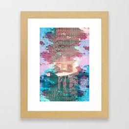 Lunar Arboretum Framed Art Print