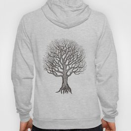 Tree of Life Blue Zen Design Hoody