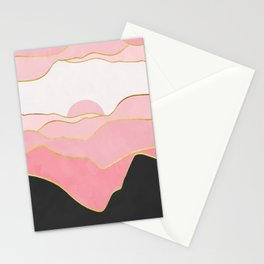 Minimal Landscape 02 Stationery Cards