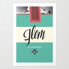 Flem Filterzigaretten Art Print